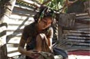 Kinderen in Myanmar gaan terug naar school