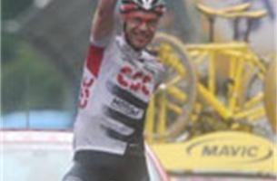 Jens Voigt geeft medevluchters het nakijken in Giro