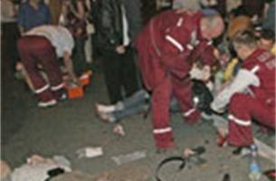 50 gewonden bij aanslag tijdens concert in Minsk