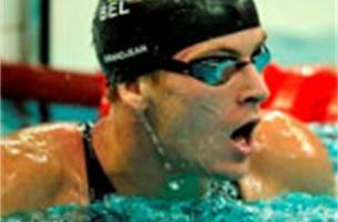 Grandjean zwemt Belgisch record, maar is uitgeschakeld