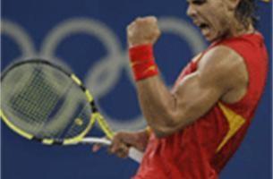 Rafael Nadal kroont zich tot olympisch kampioen