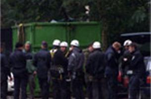 Kapwerken aan Lappersfortbos onder luid protest van start