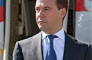 "President Medvedev noemt Saakasjvili ""politiek lijk"""