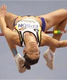 Tia Hellebaut derde beste atlete van Europa