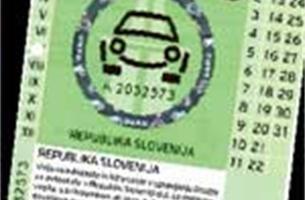 Gebruikte autowegenvignetten massaal te koop op internet