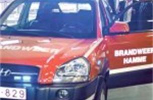 Brandweer rijdt met nieuwe commandowagen