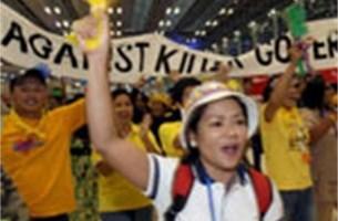 Thaise regering niet van plan om op te stappen