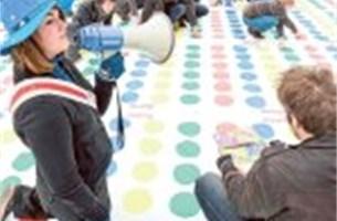 Mechelse studenten breken wereldrecord Twister