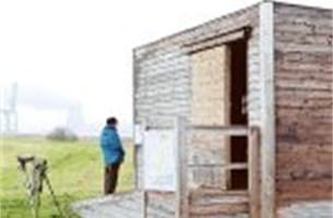 Vogelkijkhuis op Groot Buitenschoor