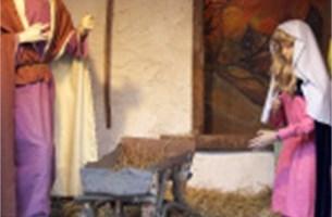 Vandalen beschadigen Itegemse kerststal