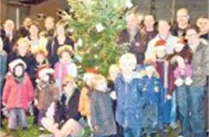Wijk 't Geleeg heeft mooiste kerstboom
