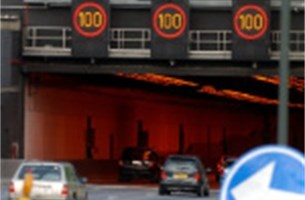 150-tal snelheidspv's aan Kennedytunnel vernietigd