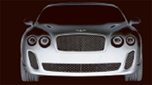 Bio-Bentley op autosalon van Genève