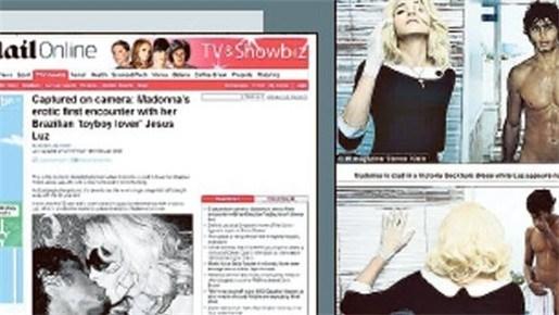 Madonna in pikante fotosessie