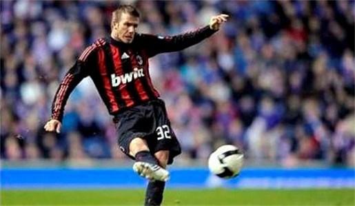 Kaka hoopt dat Beckham langer in Milaan blijft
