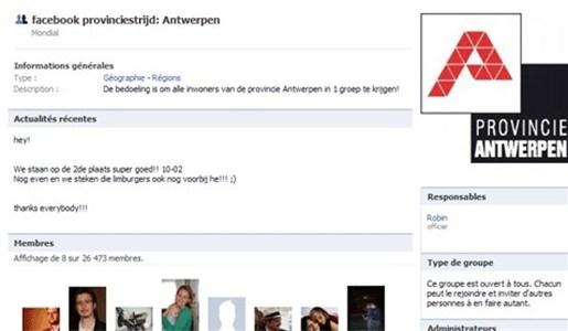 Antwerpen zit Limburg op de hielen in provinciestrijd Facebook