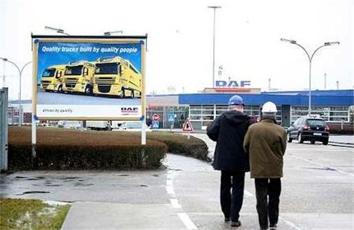 Tijdelijke werkloosheid mogelijke oplossing voor DAF Trucks