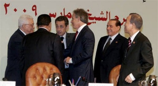 Donorconferentie voor Gazastrook in Sharm El Sheikh
