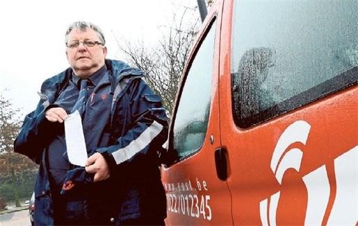 Parkeerwachters ontzien postbode niet