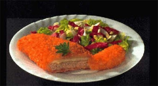 Fritzl-schnitzel  (9 euro) moet van de menukaart af