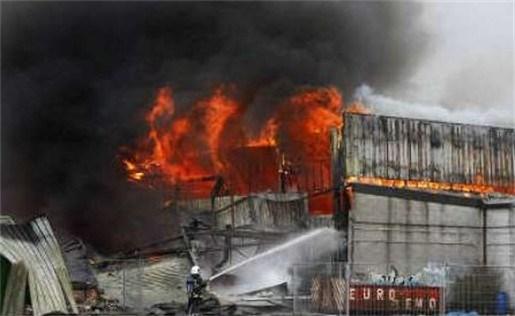 Brand in skatepark in Sint-Niklaas allicht aangestoken