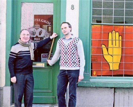 Pelgrim en Stoopke worden één groot café