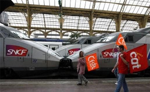 Donderdag geen TGV-treinen naar Parijs