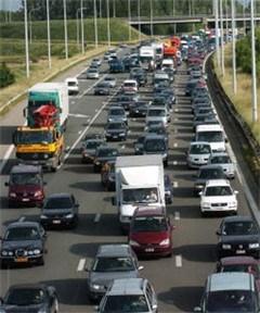 Wegwerkzaamheden veroorzaken zware verkeershinder