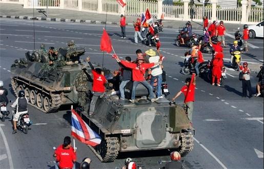 Opnieuw rust in Bangkok na weken van hevig protest