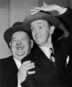 Laurel en Hardy vereeuwigd met standbeeld