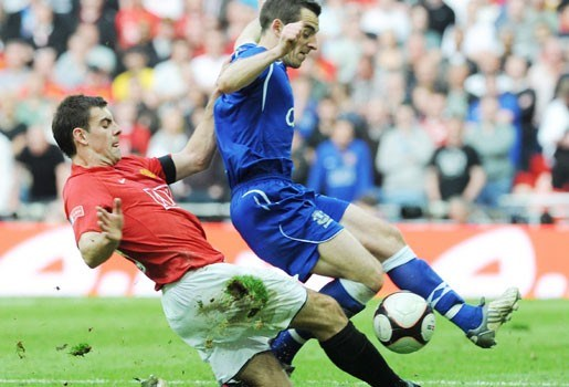 Grasmat Wembley is een akker