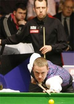 Mark Williams eerste grote naam die sneuvelt op WK Snooker