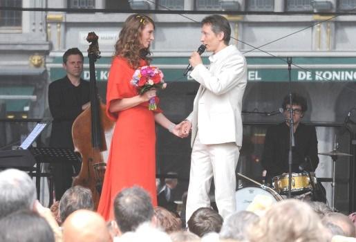 Helmut en Jelle vieren huwelijk met tournée générale