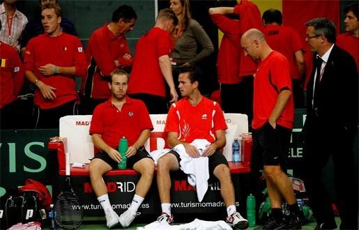 België wordt reekshoofd in Davis Cup