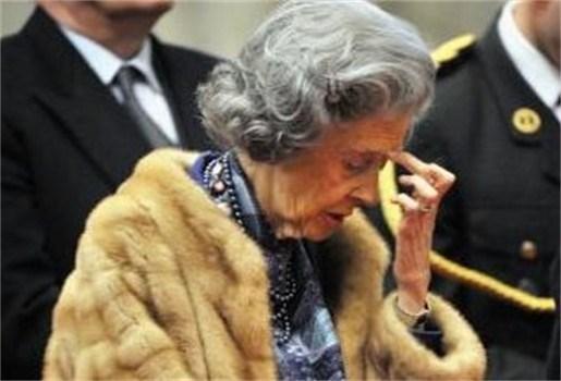 Koningin Fabiola met de dood bedreigd