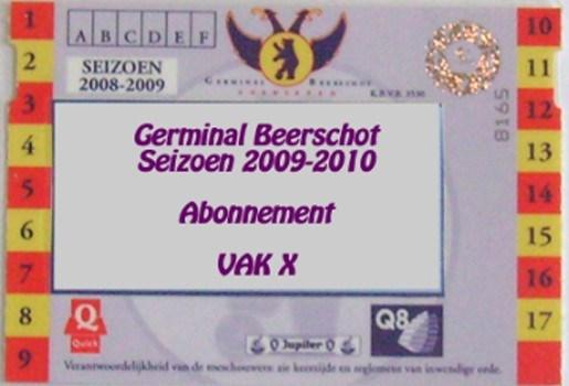 """Germinal Beerschot: """"Onze abonnementen zijn niet de duurste"""""""