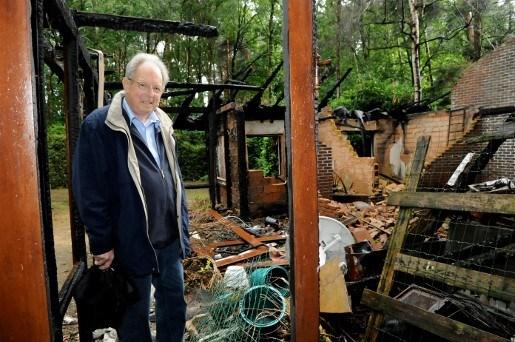 Verzekering vergoedt illegale afgebrande chalet niet
