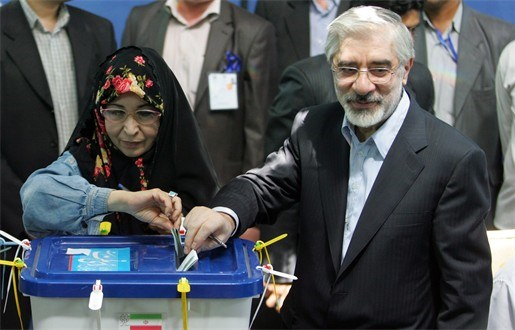 Verliezer Mousavi spreekt maandag Iraanse volk toe
