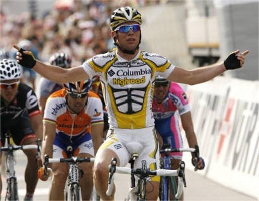 Mark Cavendish wint in Ronde van Zwitserland