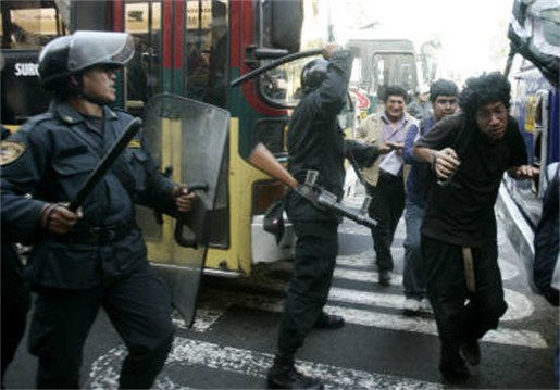 Obama onder druk om mensenrechten in Peru te steunen
