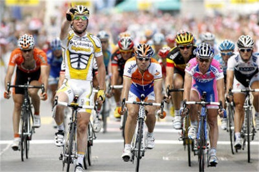 Cavendish wint in Ronde van Zwitserland