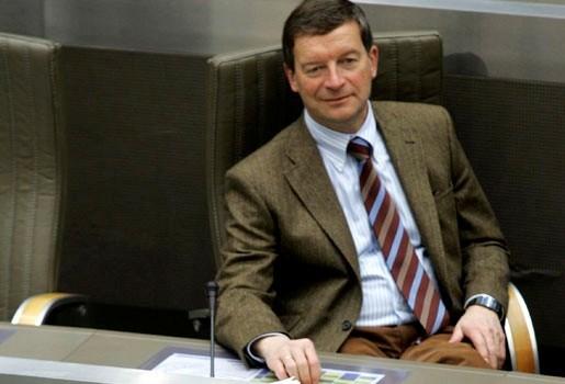 Johan Sauwens voorzitter Vlaams parlement