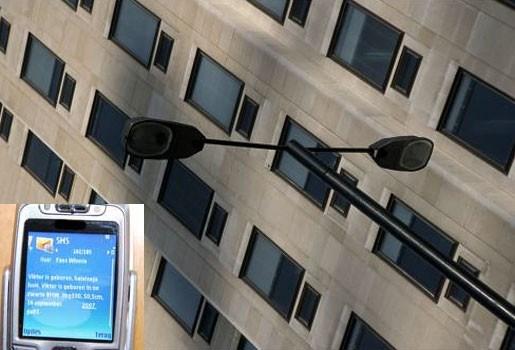 Sms dooft straatverlichting