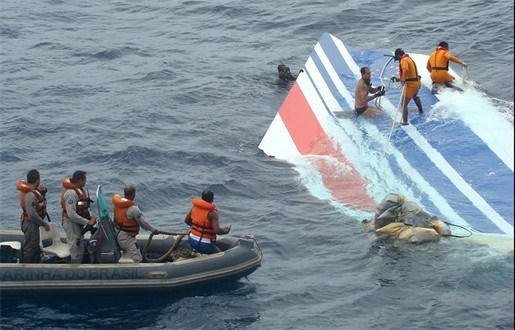 Brazilië zoekt niet meer naar slachtoffers crash Air France