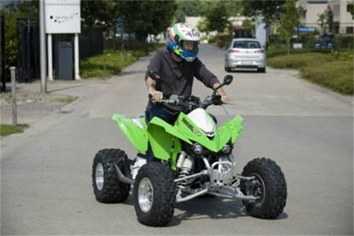 Antwerps verbod op quads goedgekeurd