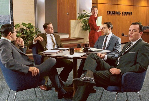 Bekroonde serie 'Mad Men' van start op Acht