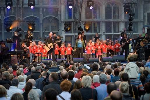 11 juli-viering: Vlaams feestje met Antwerps accent