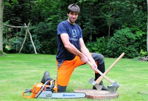 Schildenaar is Vlaams kampioen houthakken