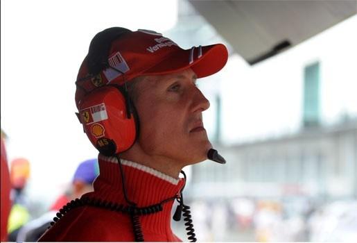 Ferrari-baas sluit terugkeer van Schumacher uit
