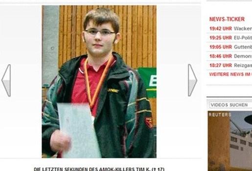 Tim Kretschmer kocht duizend kogels voor vader
